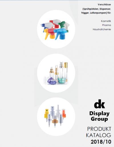 Sprühpistolen, Dispenser, Trigger, Lotion-Pumpen - Produktkatalog Lagerware 2018_01