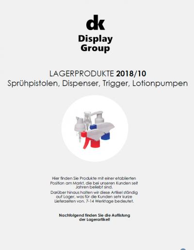Sprühpistolen, Dispenser, Trigger, Lotion-Pumpen - Produktkatalog Lagerware 2018_02