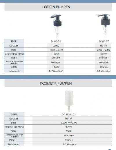 Sprühpistolen, Dispenser, Trigger, Lotion-Pumpen - Produktkatalog Lagerware 2018_06
